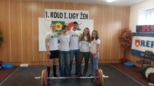Zleva: A. Kolmanová, J. Švecová, L. Bečvář, E. Pudivítrová, N. Rakovská