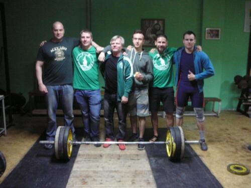 Zleva: J. Bok, T. Mrština, P. Kolář, L. Dudák, L. Zaspal, R. Bittman